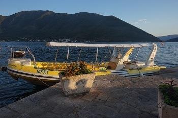 Bateau Baie de Kotor Monténégro