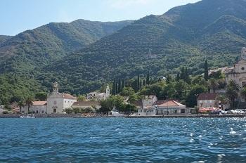 Baie de Kotor Monténégro