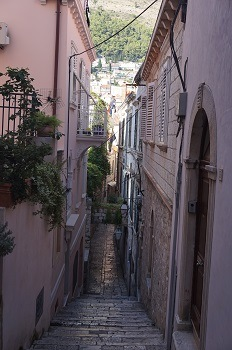 Centre ville Dubrovnik, Croatie